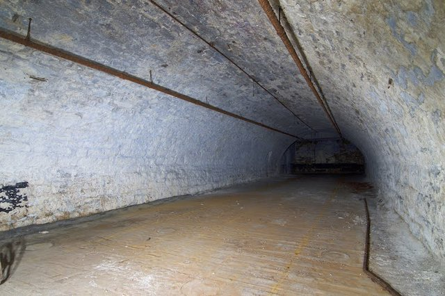 Middle Barrel Vault in Second Basement, Lagering Cellar, of Brew House, Photograph by Jason Gray.jpg