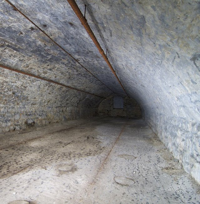 North Barrel Vault in Second Basement, Lagering Cellar, of Brew House, Photograph by Jason Gray.jpg