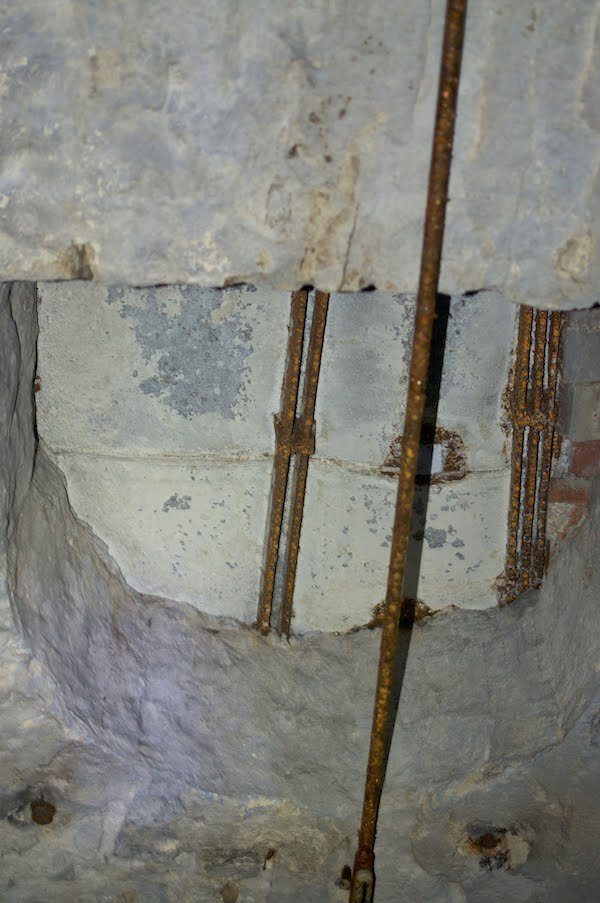 Sealed Hole in Lagering Cellar Vault, Presumably for the Lowering of Ice, Photograph by Jason Gray.jpg