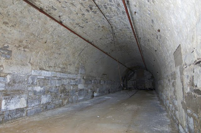 One of Seven Barrel Vaults in Malt House subbasement, photograph by Jason Gray..jpg