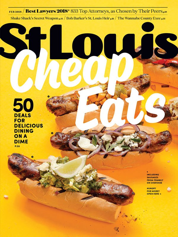 St. Louis Magazine Cover February 2018