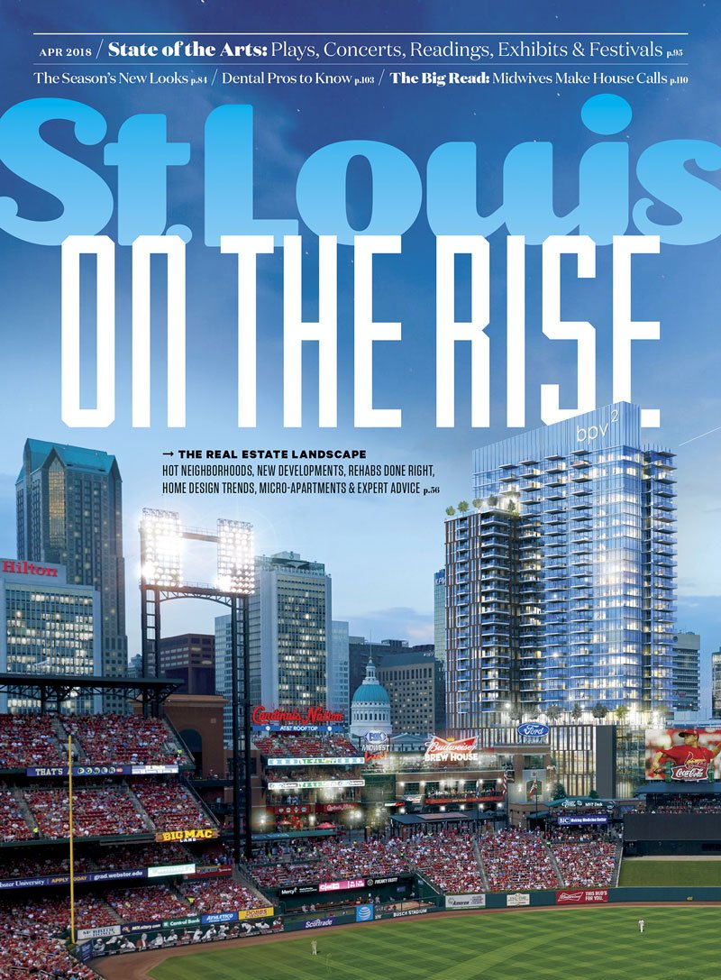 St. Louis Magazine Cover April 2018