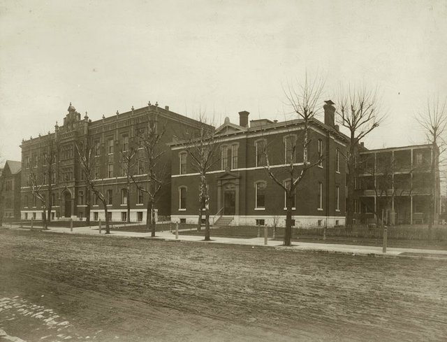 Deaconess Hospital, 4117 West Belle Place, 1901-6, Photograph by George Stark, Courtesy of Missouri History Museum.jpg