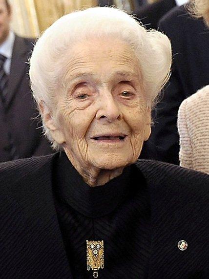 Rita_Levi_Montalcini Presidenza della Repubblica [Attribution], via Wikimedia Commons.jpg