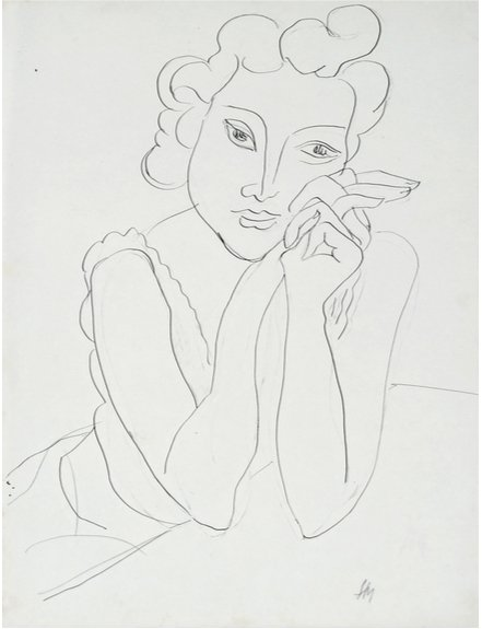 Works by Henri Matisse on exhibit at The Greenberg Gallery