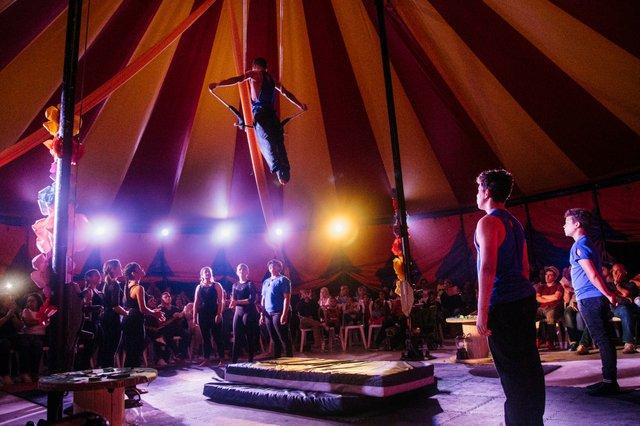 National Circus Schoool of Puerto Rico social circus tent.jpg