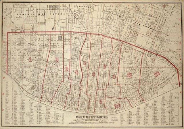 Julius Hutawa, Map of St. Louis, 1870, Library of Congress.jpg