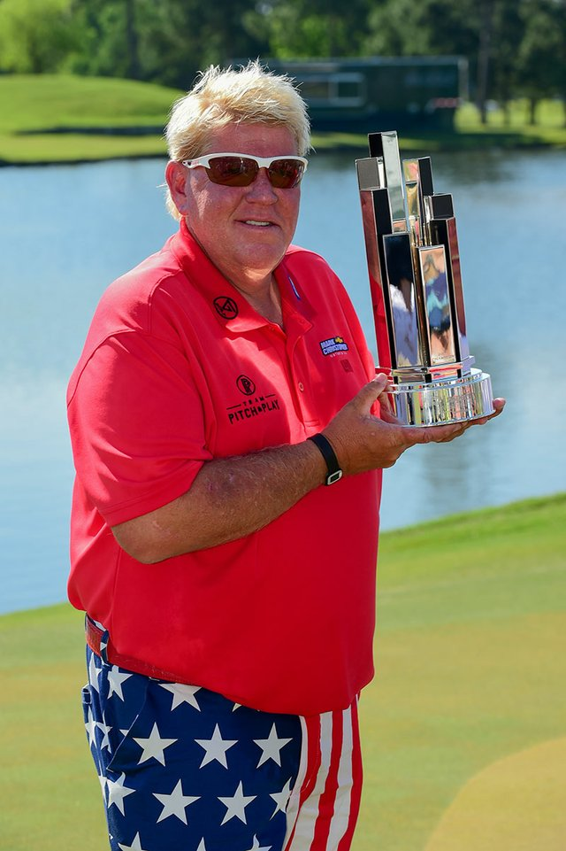 GOLF: MAY 07 Champions Tour - Insperity Invitational - Final Rou