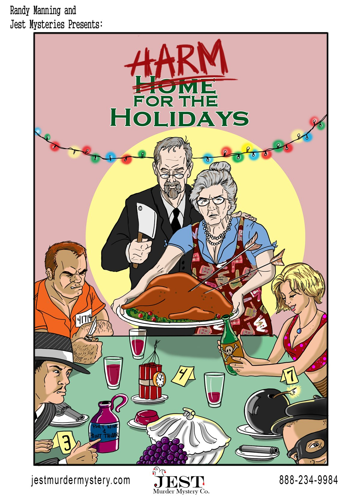 Comedic Holiday Mystery Dinner at the Lemp Mansion