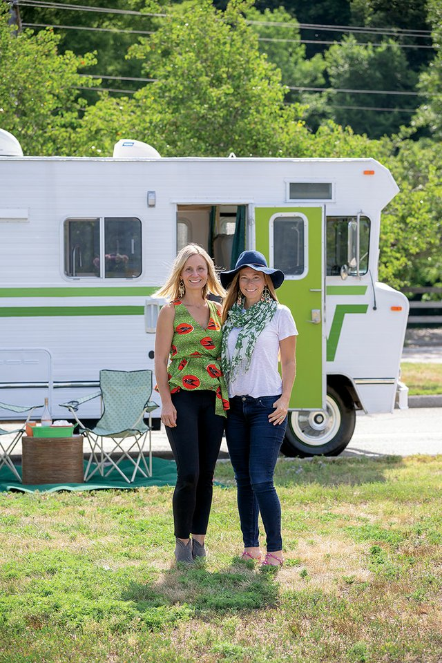 How two families transformed a 1974 Winnebago into a road tripper's
