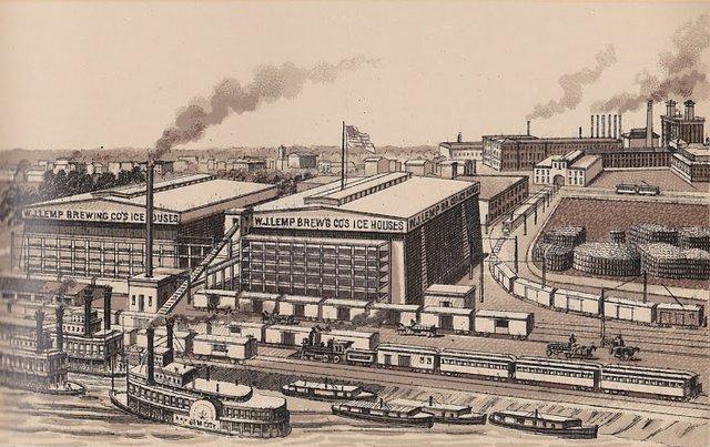 Lemp Brewery Ice Houses & Shipping Yard , Lower Depot, 1893, Image Courtesy of Stephen Walker.jpg