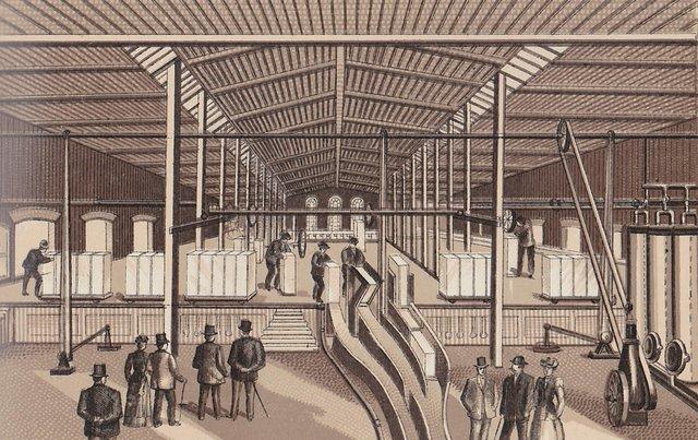Lemp Brewery Ice Plant Proper Freezing Tanks of Ice Plant, 1893, Image Courtesy of Stephen Walker.jpg