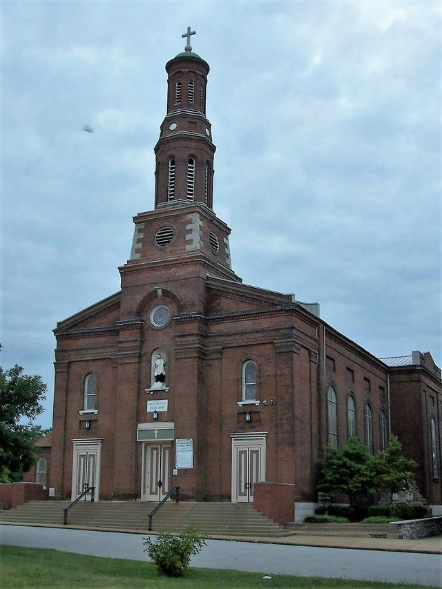 St. Vincent de Paul Roman Catholic Church, Photo by Chris Naffziger.jpg