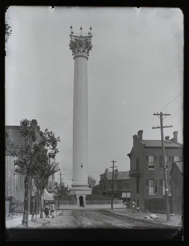 William Swekosky, Grand Avenue Water Tower at the Corner of 20th and Grand, Missouri History Museum, P0245-S03-00136-6G.jpg