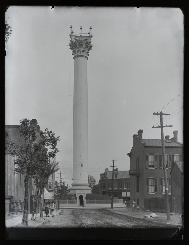 William Swekosky, Grand Avenue Water Tower at the Corner of 20th and Grand, Missouri History Museum, P0245-S03-00136-6G.jpg