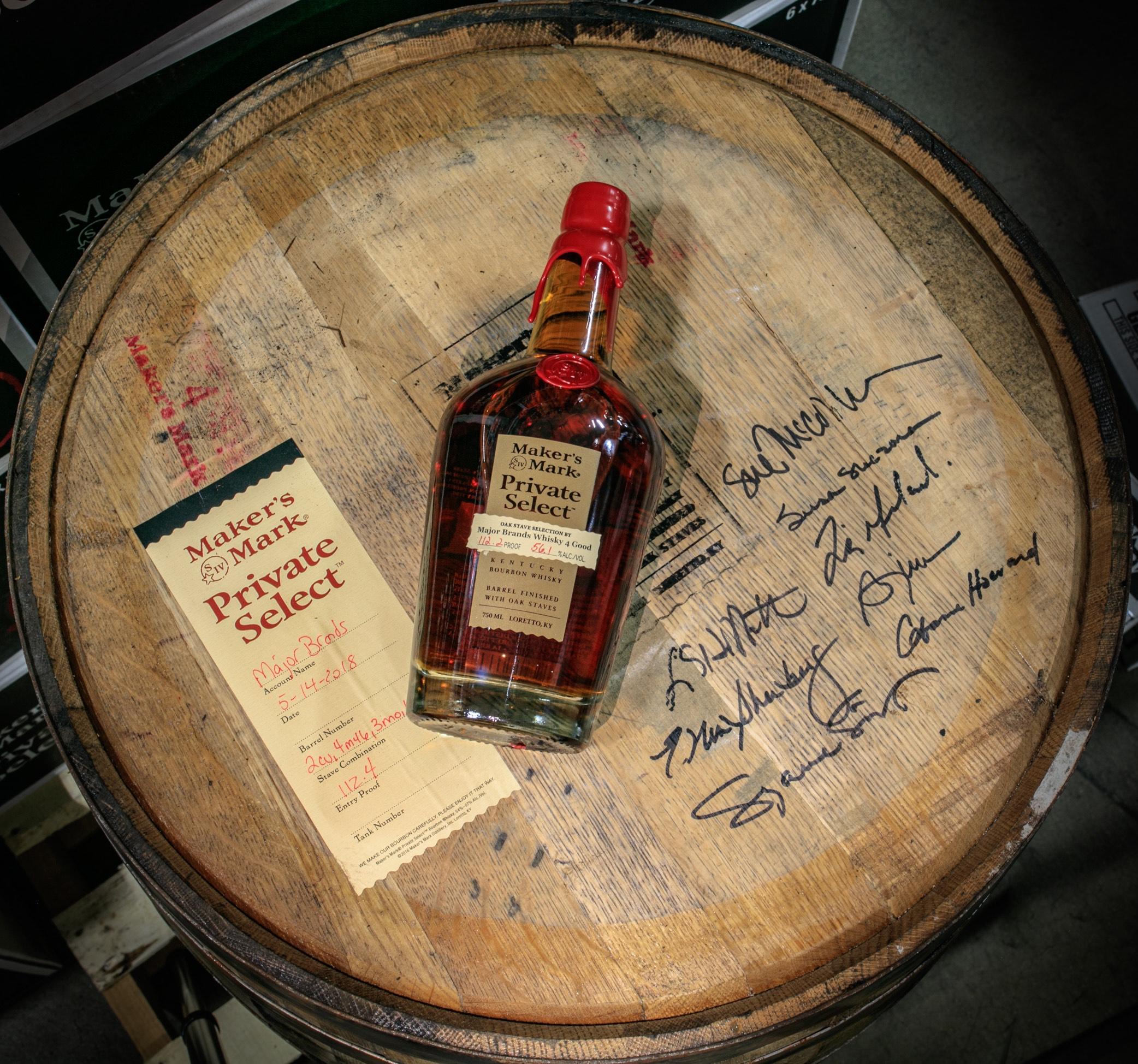 dating bourbon bottles