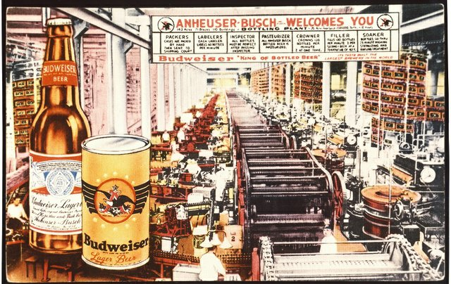 57fe4625 The difference a century made at Anheuser-Busch's Bevo Bottling Facility