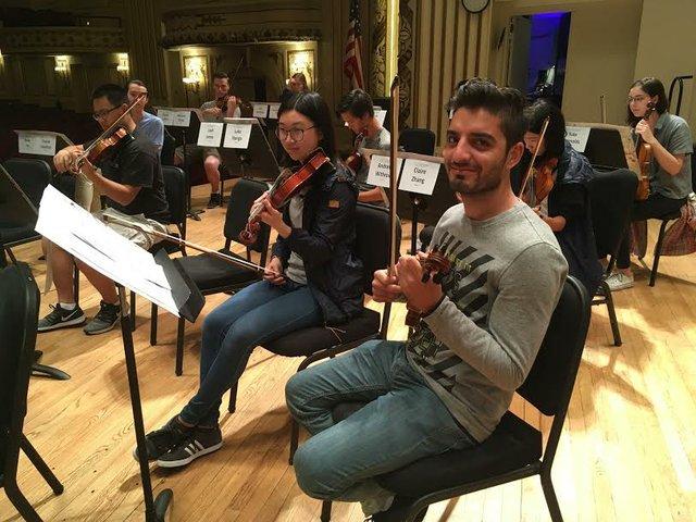 Lawan Ali violin player