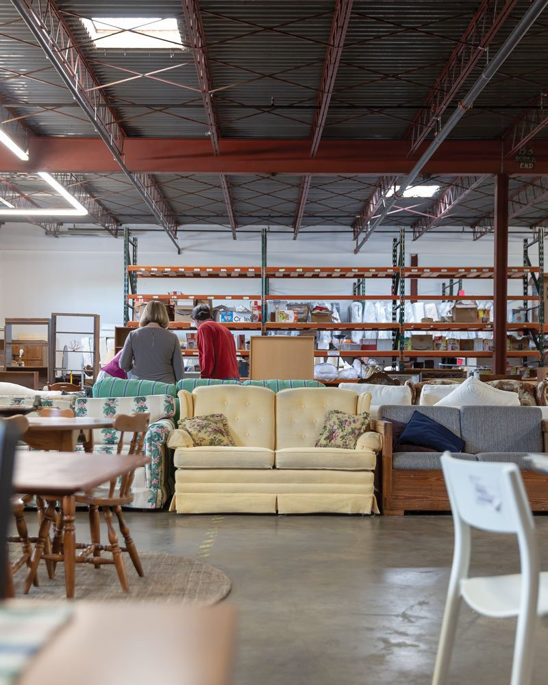 Brentwood furniture bank home sweet home helps st louisans in need start over