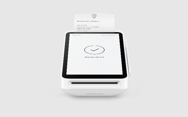 New Square Terminal with Receipt