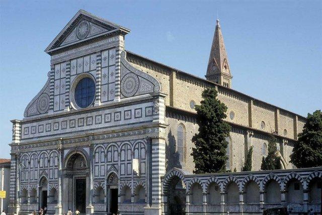 Santa Maria Novella's west facade