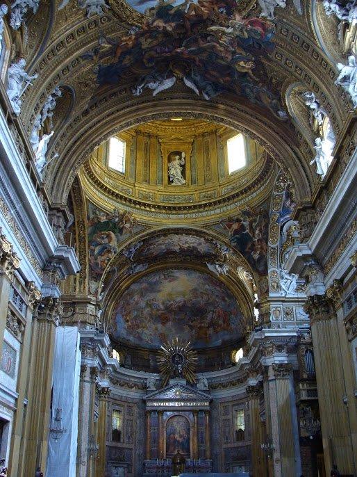 The Nave of Il Gesu