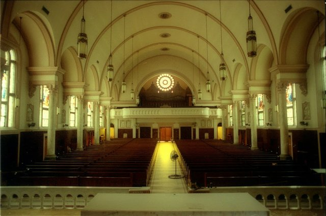 Most Holy Name interior