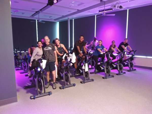 Bob Mendelson group spinning class.jpg