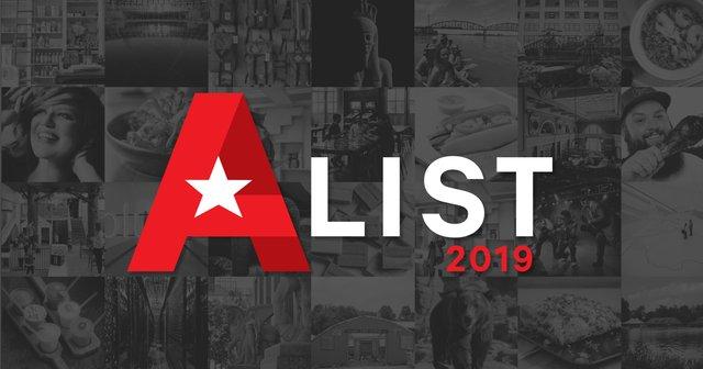 2019 A-List Facebook Graphic