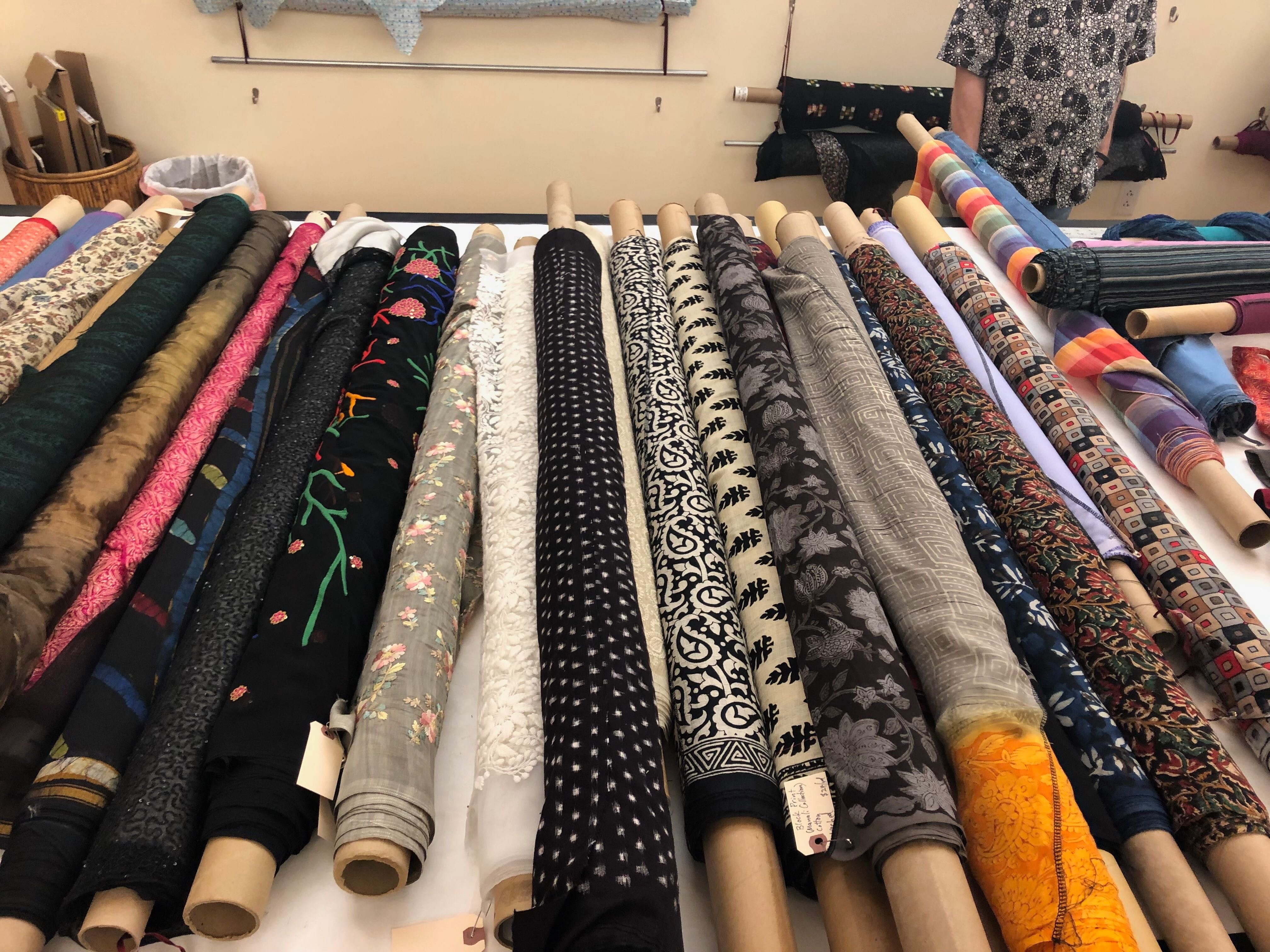 853b9e3a4d8 Bespoke to offer fabrics and textiles from India at Silk & Spice event