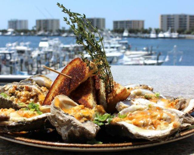 Brotula's Oysters hot sauce bleu cheese.JPG