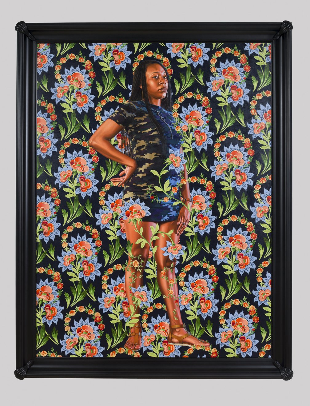 Love the recent Kehinde Wiley exhibit at the Saint Louis Art Museum? The institution just acquired one of the artist's portraits
