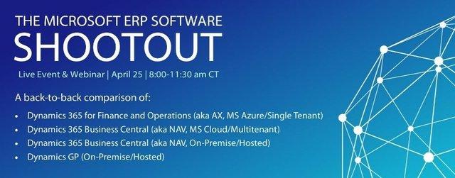 The Microsoft ERP Software Shootout