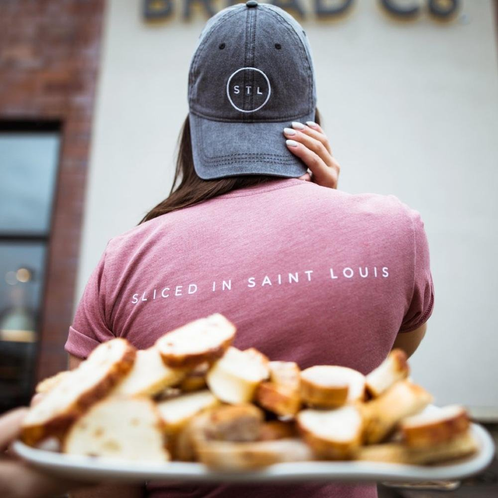 "Panera partners with Arch Apparel to make ""Bread Co."" T-shirts"