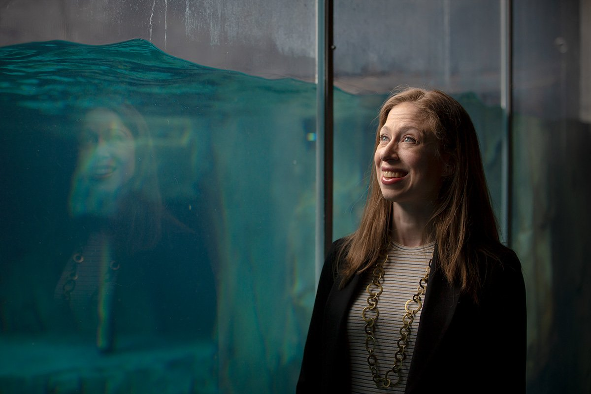 Chelsea Clinton gave the Saint Louis Zoo a shout-out on 'Late Night with Seth Meyers'