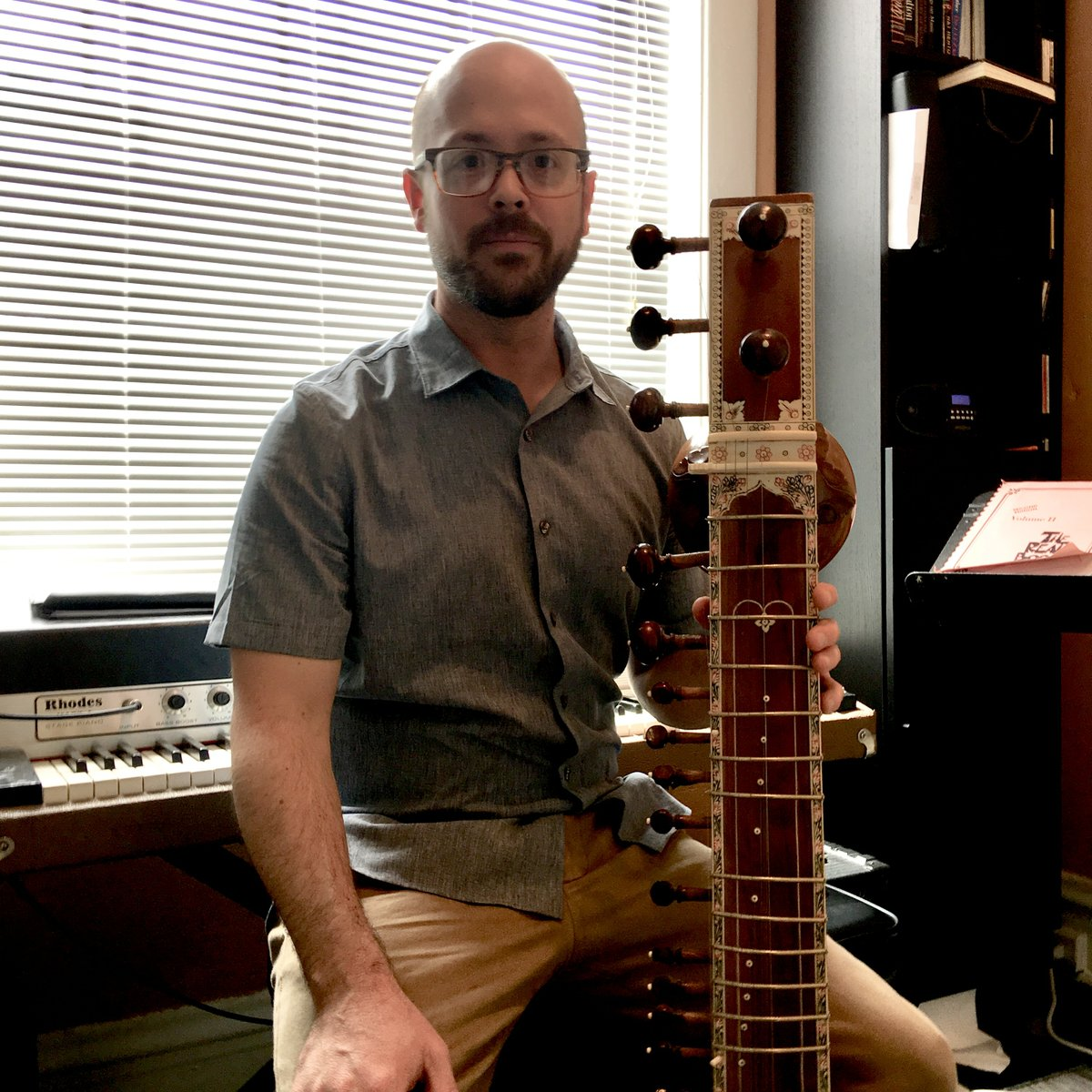 Jazz bassist Bob DeBoo found this curious abandoned instrument in his Shaw neighborhood alley—now police are trying to figure out whom it belongs to