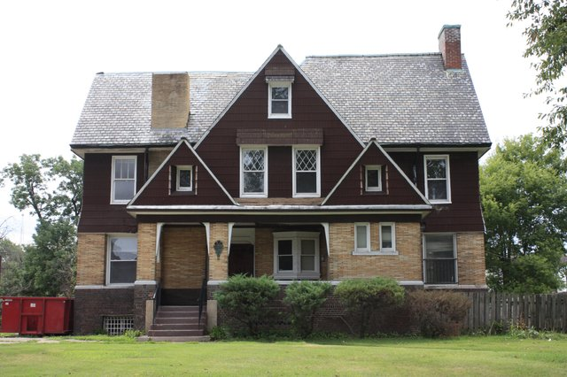 The home of architect Theodore Link