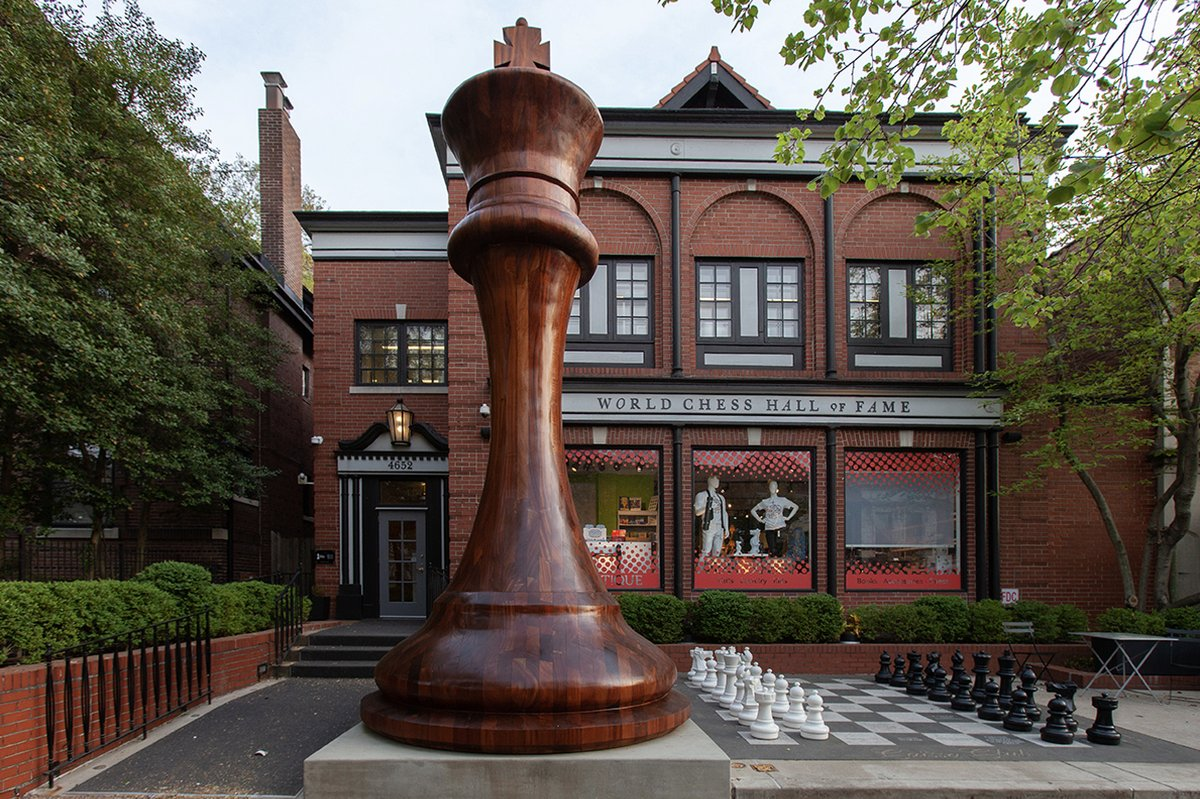 See this now: 'M.C. Escher: Infinite Variations' at the World Chess Hall of Fame