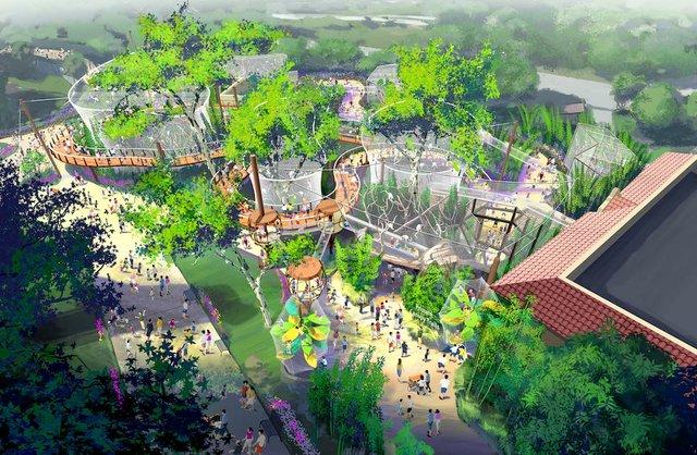 2_Aerial View rendering_Primate Canopy Trails Saint Louis Zoo.jpeg