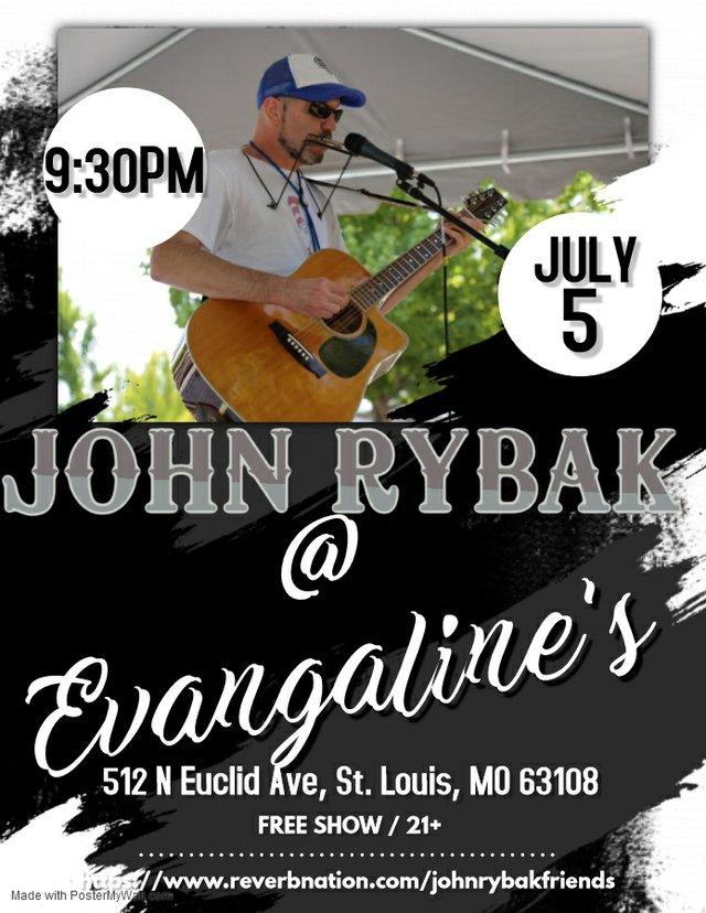 John Rybak at Evangeline's