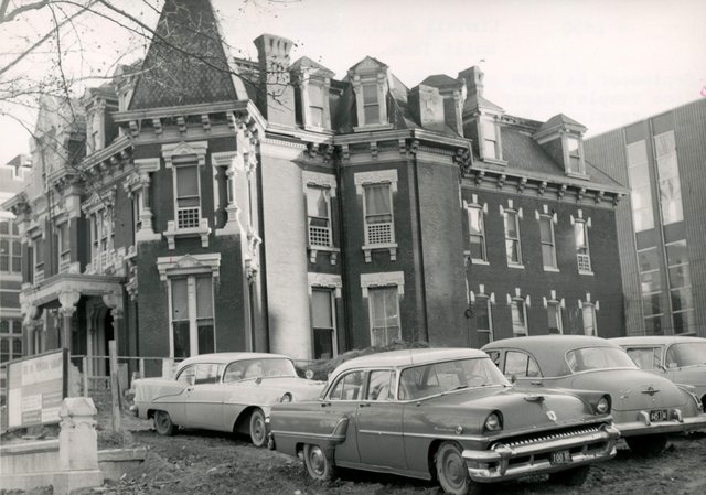 Moses Frailey Residence, 3650 Lindell, Photograph by William Swekosky, Missouri History Museum, St. Louis, N05587.jpg
