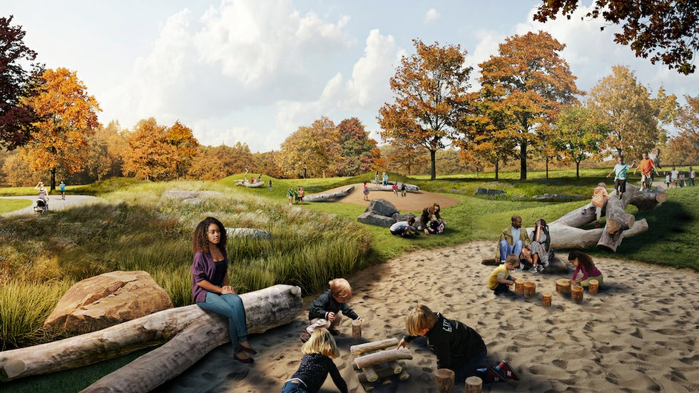 5 things to know about Forest Park's new Nature Playscape