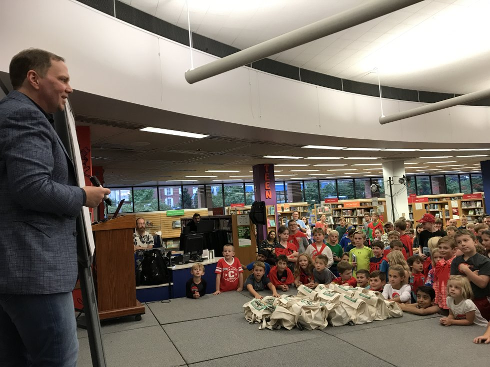 Ahead of St. Louis visit, Dav Pilkey, author of Captain Underpants series, explains how kids' influence his books