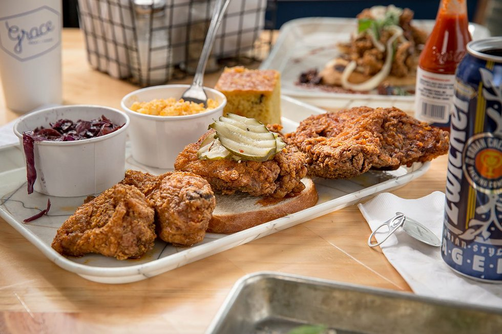 Grace Chicken + Fish to add late-night eats to The Grove