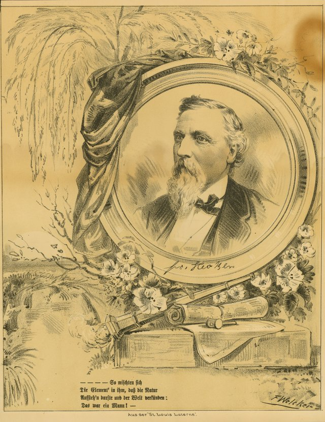 Friedrich Hecker Commemorative Lithograph by F. Welker, c. 1881, Missouri History Museum, St. Louis, P0004-1018.jpg