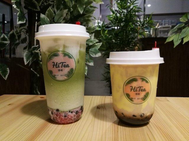 Love You So Matcha Latte and Bu Lei Roasted Milk Tea 2.jpg