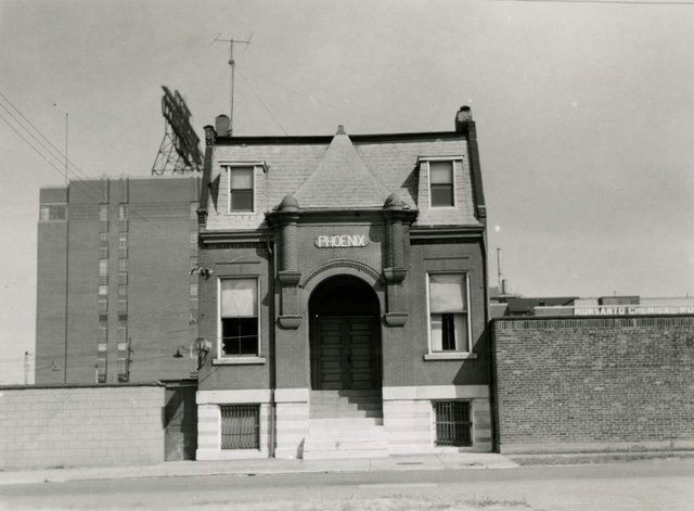 Phoenix Musical Club, 1712 South Third Street, Photograph by William Swekosky, Missouri History Museum, N05172.jpg