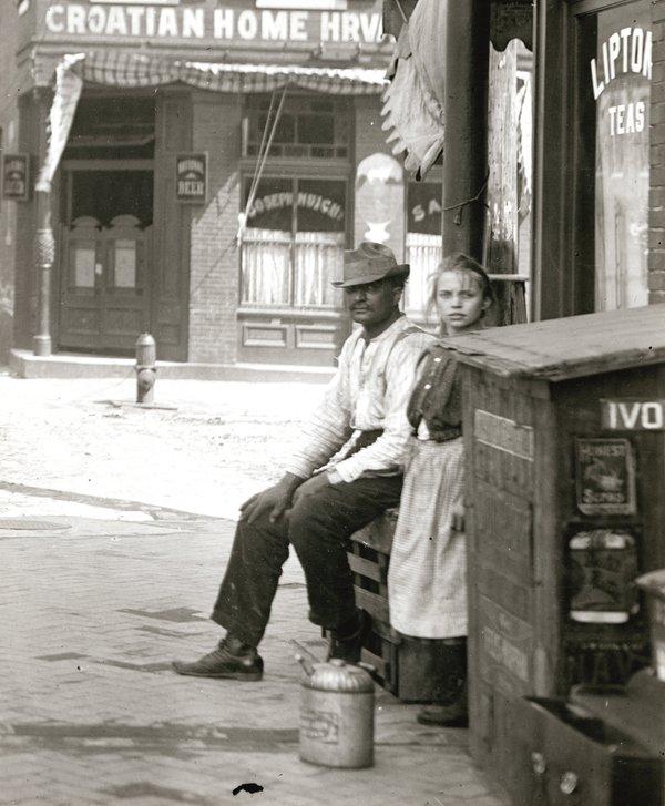Southeast Corner of Third and Lafayette, c. 1910, Missouri History Museum, N25964.jpg
