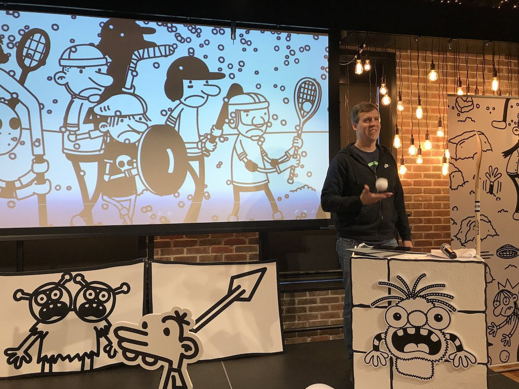 Diary Of A Wimpy Kid Author Jeff Kinney On Writing Children S