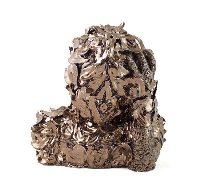 emma-vidal-Swann, 2019, Glazed stoneware clay, 10.6 x 10.9 x 7.8 inches.jpg